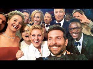 ellen selfie