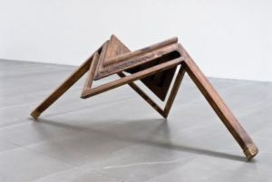 """Table with Two Legs"" (2008) by Ai Weiwei (Courtesy of Rubell Family Collection, Miami. © Ai Weiwei)"