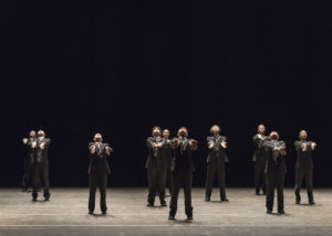 Choreographer: Ohad Naharin Piece: Minus 16 Photo credit: Alejandro Gomez