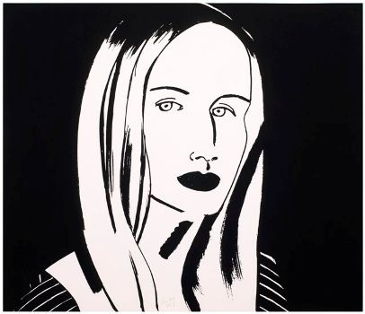 """Christine,"" etching, 2013"