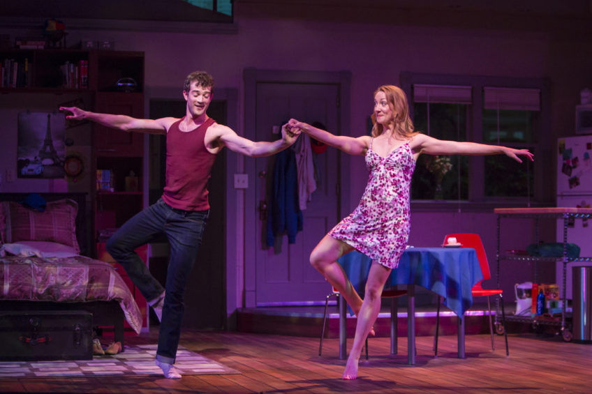 "A.J. Shively and Sharon Rietkerk in ""Marry Me a Little"""