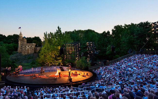 Everything You Need to Know About Shakespeare in the Park 2014