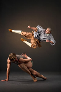 Alonzo King's Lines Ballet / Shaolin Monks- review