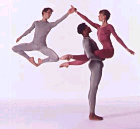 Merce Cunningham Dance Company – Ground Level Overlay, Biped, Interscape, Sounddance