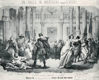 Un Ballo in Maschera – Giuseppe Verdi