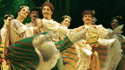 Moscow Festival Ballet on tour