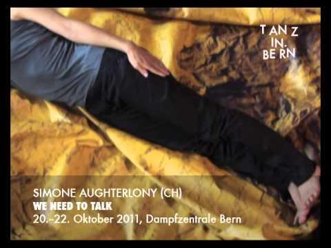 Simone Aughterlony, Bern, Switzerland