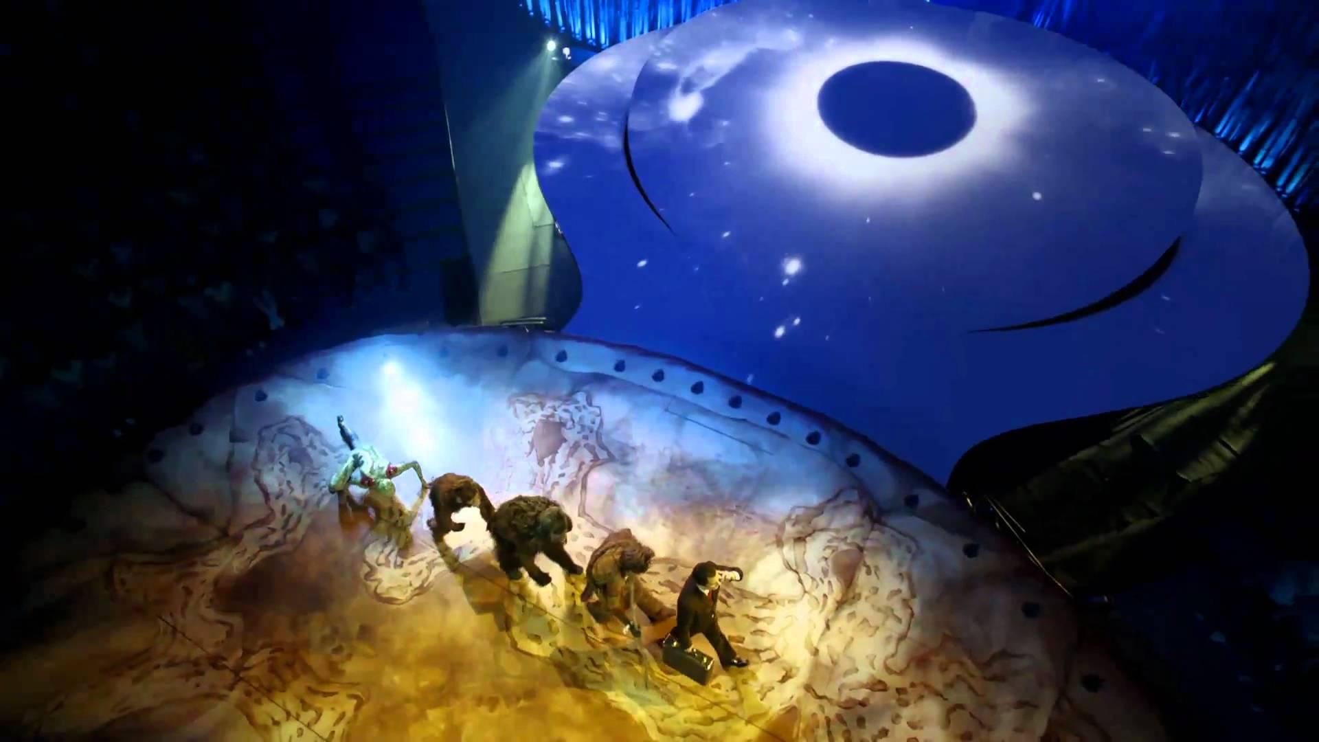 Totem, Cirque du Soleil, SF