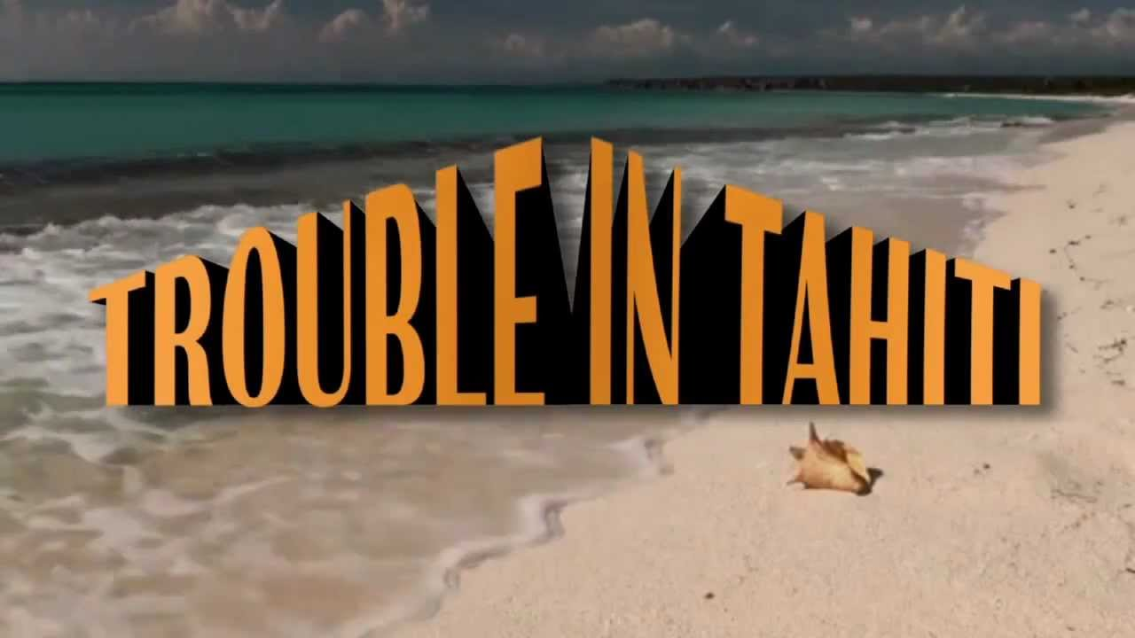 Trouble in Tahiti, Hand of Bridge, SF