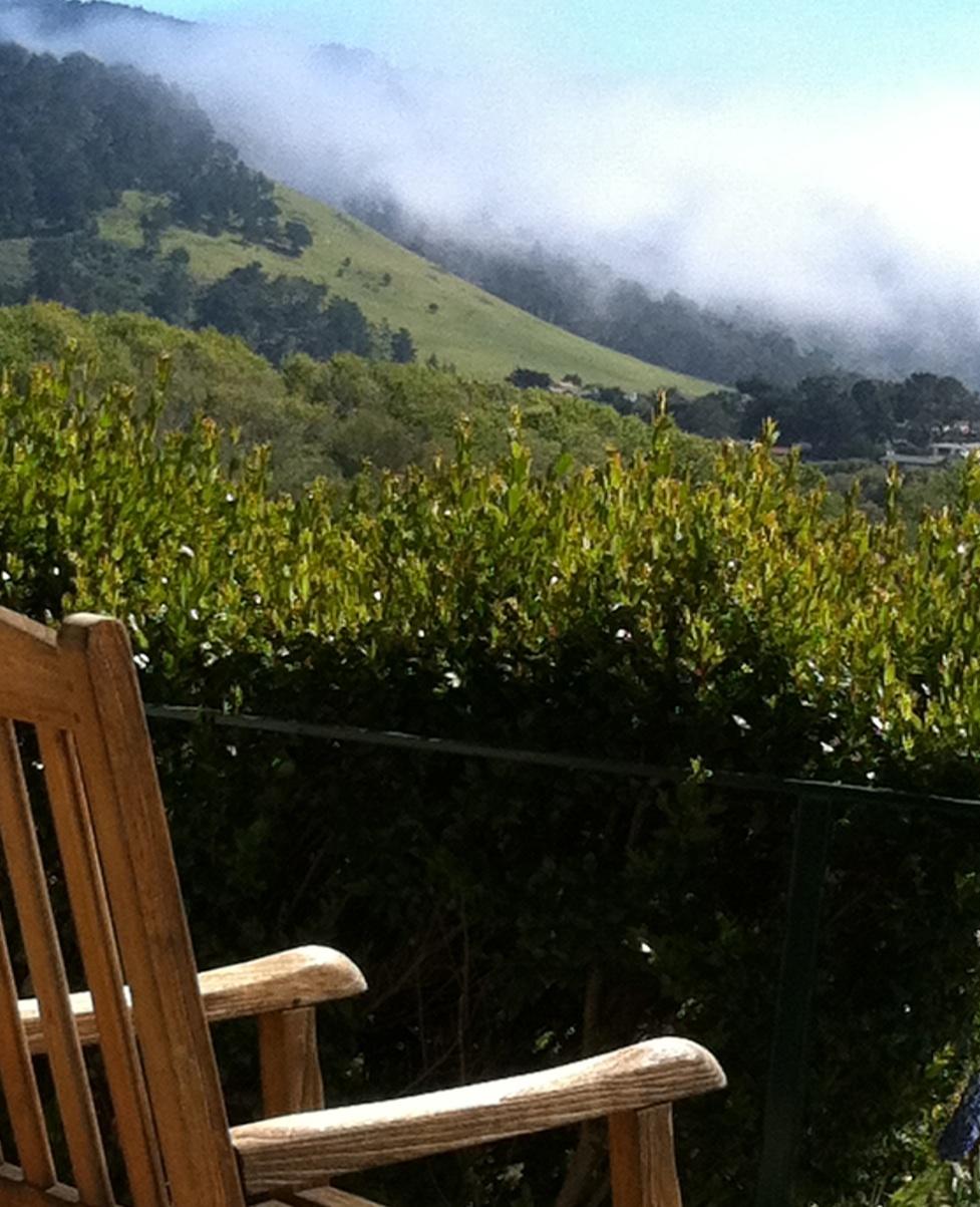 A Carmel seat.