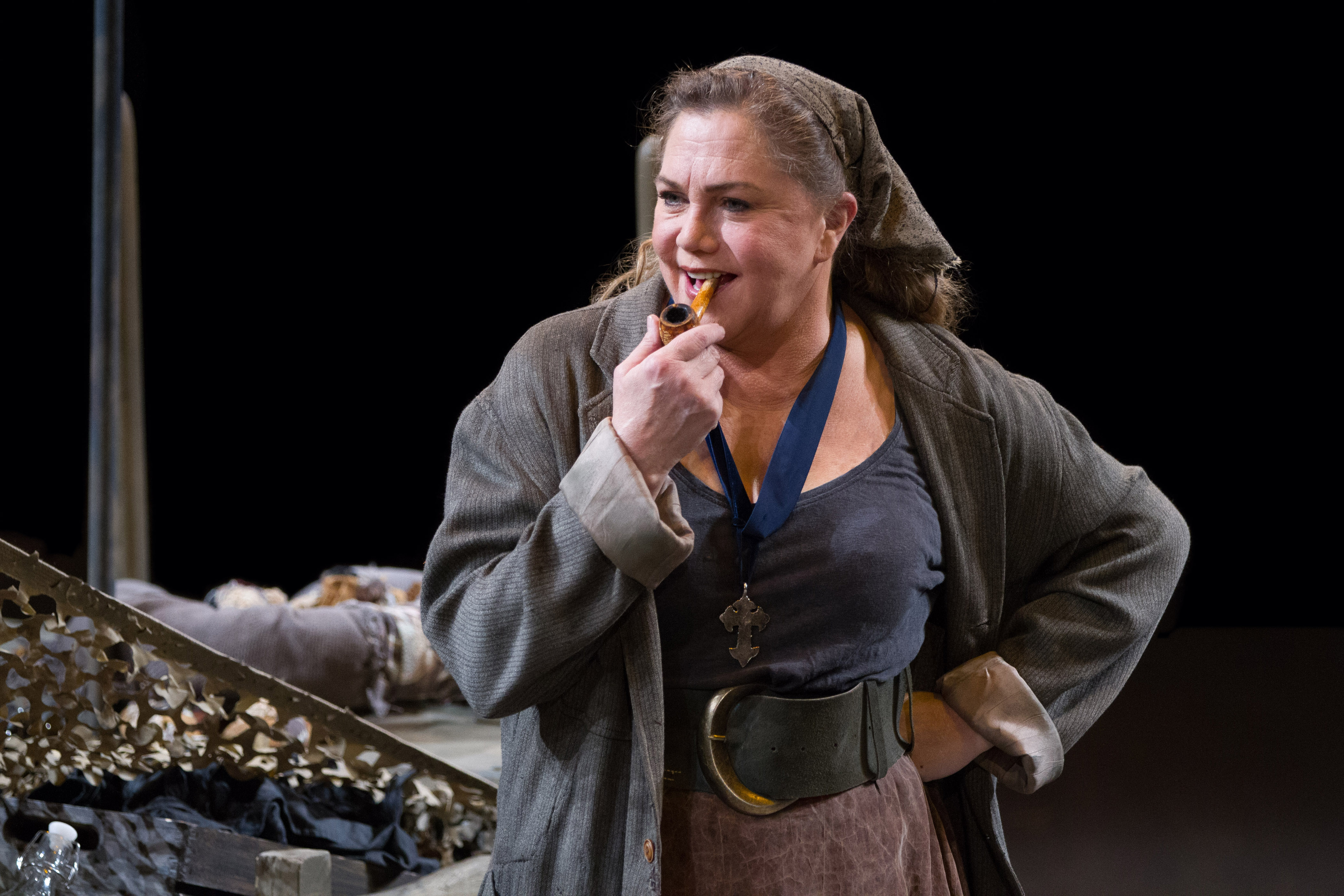 Kathleen Turner in the title role of