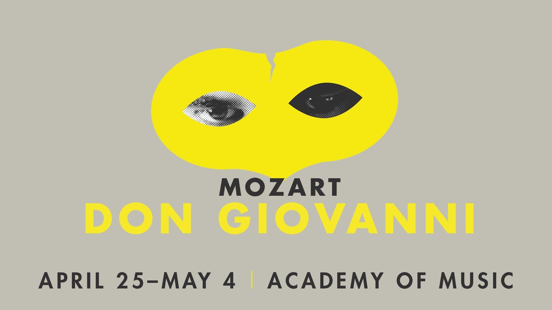 Don Giovanni, Philadelphia