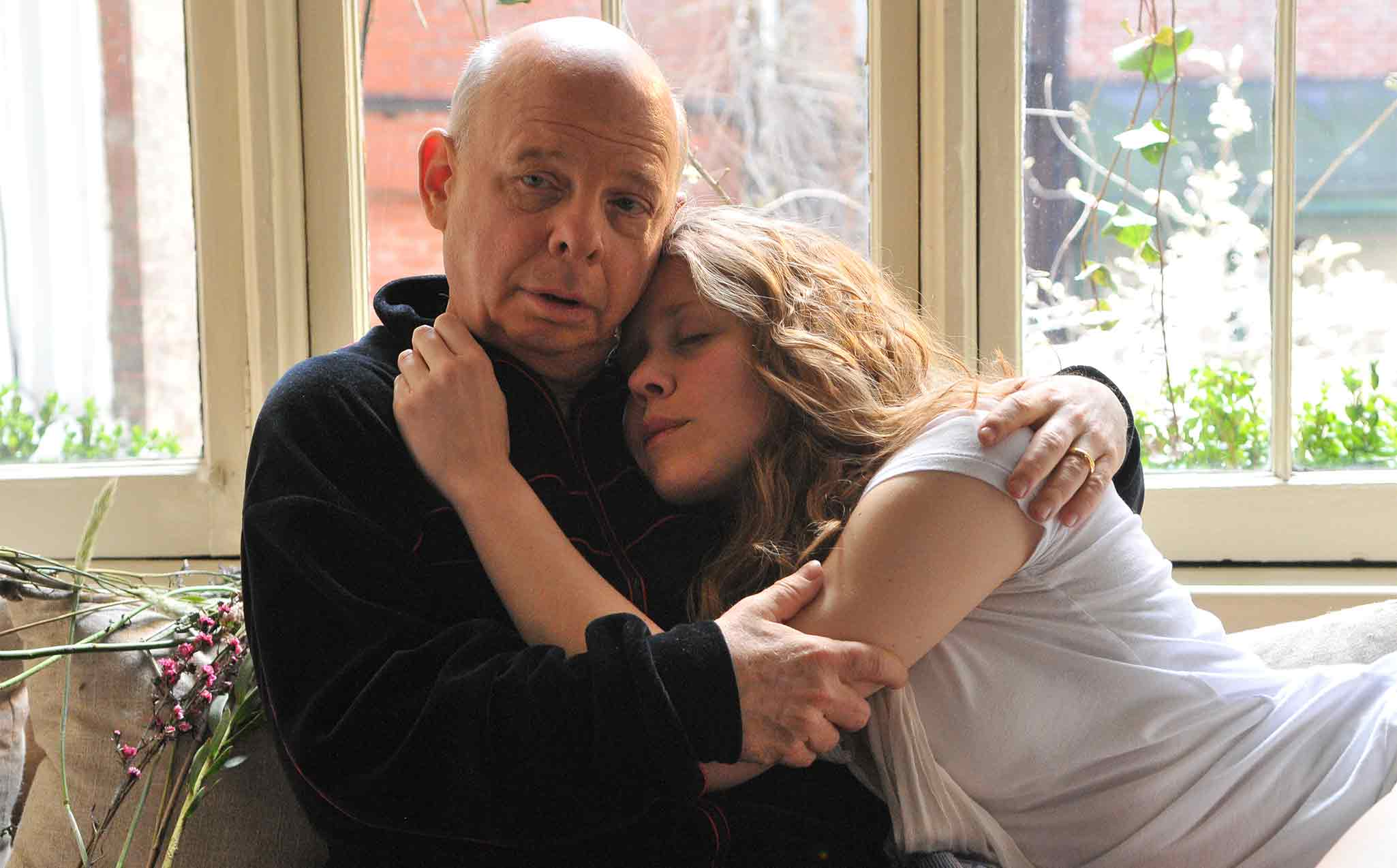 Wallace Shawn and Lisa Joyce. Photo courtesy Gene Siskel Film Center.
