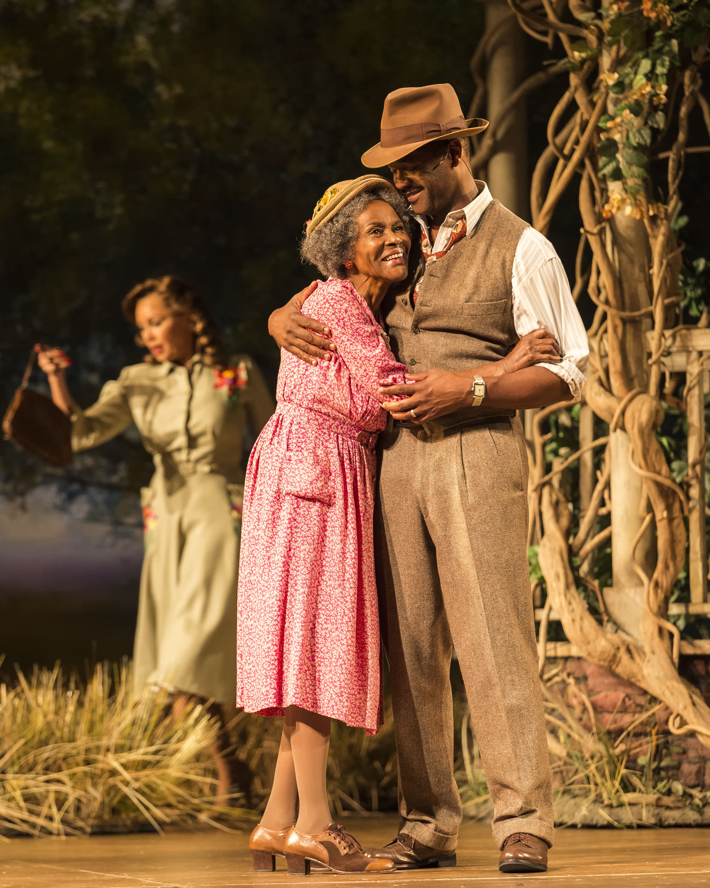 From left, Vanessa Williams, Cicely Tyson and Blair Underwood in