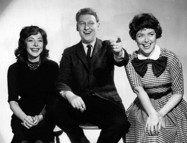 Elaine May, Mike Nichols, Dorothy Loudon, 1959. Photo courtesy Wikimedia Commons.