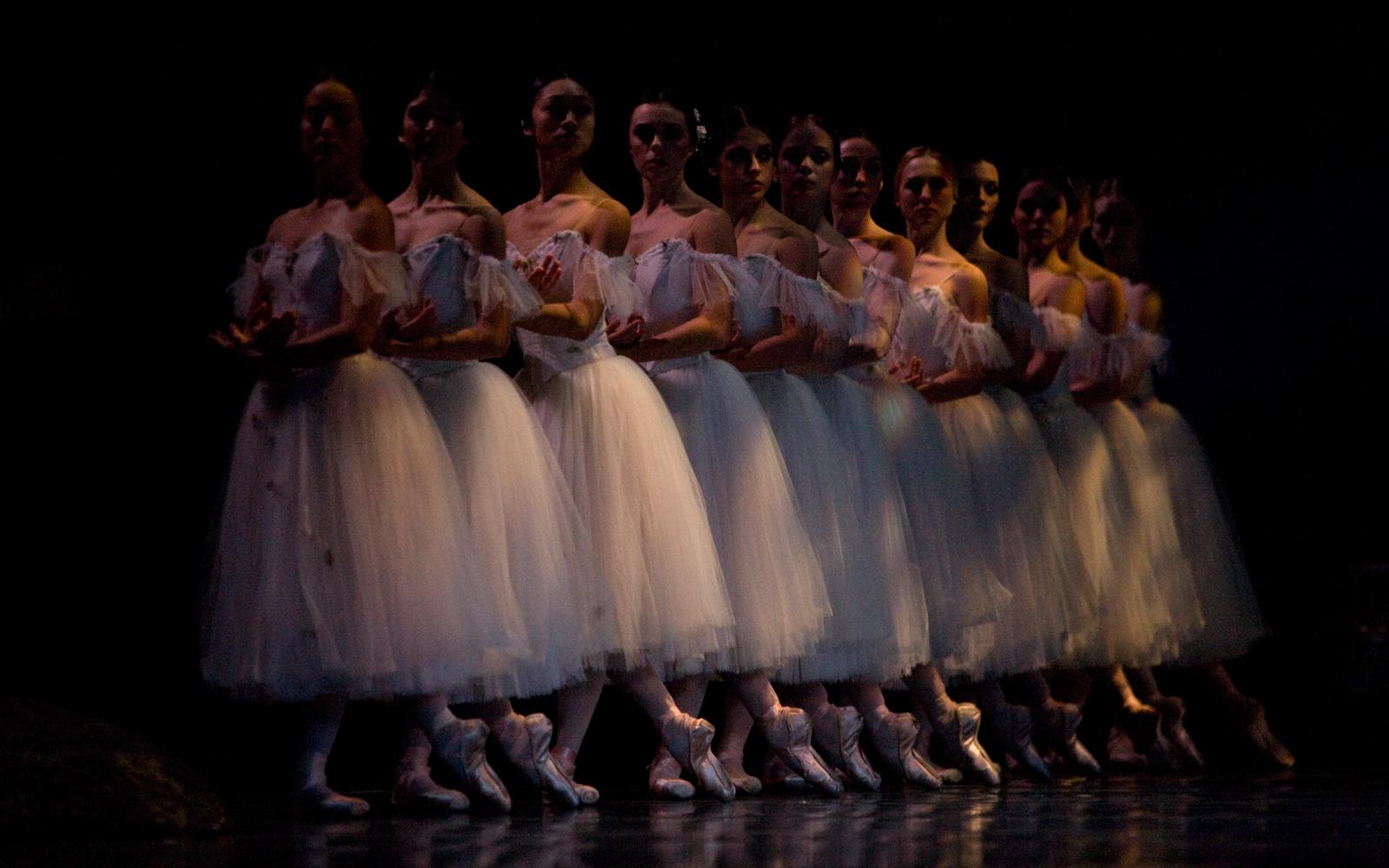 Corps dancers in San Francisco Ballet's