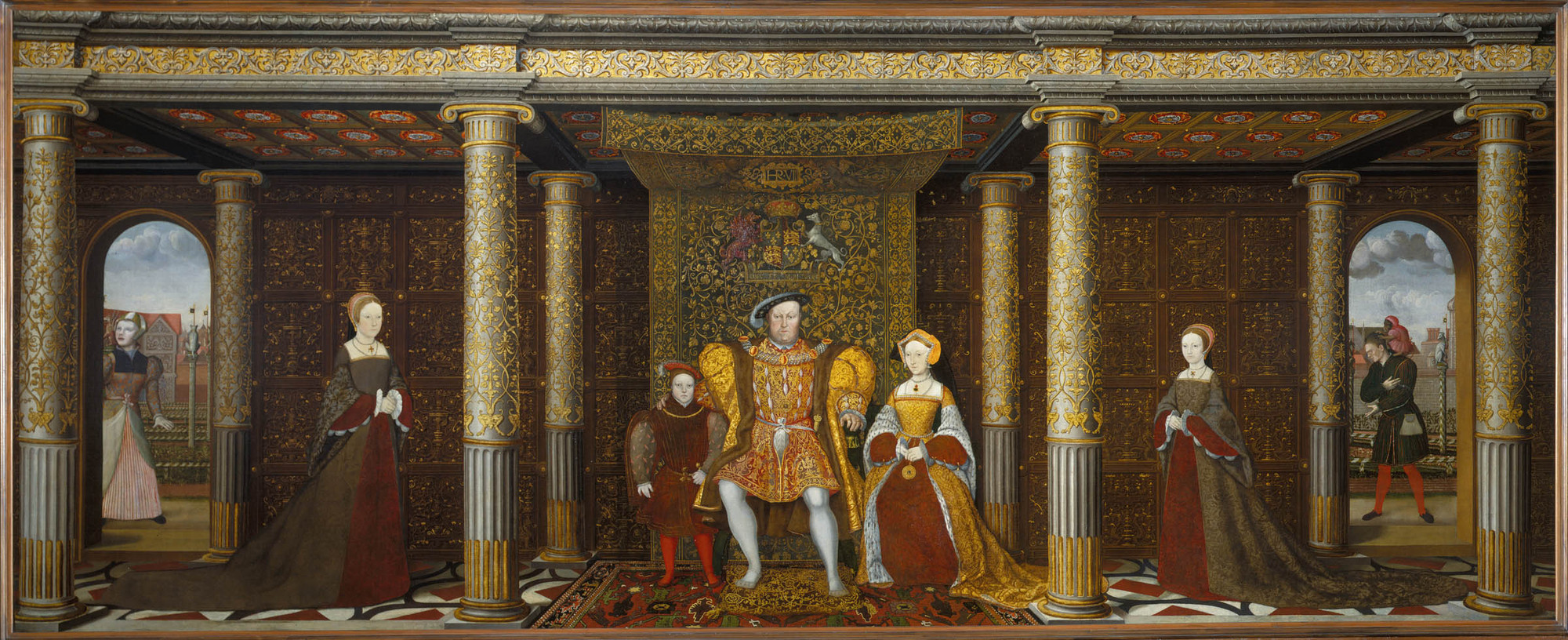The Family of Henry VIII, oil on canvas, c. 1545