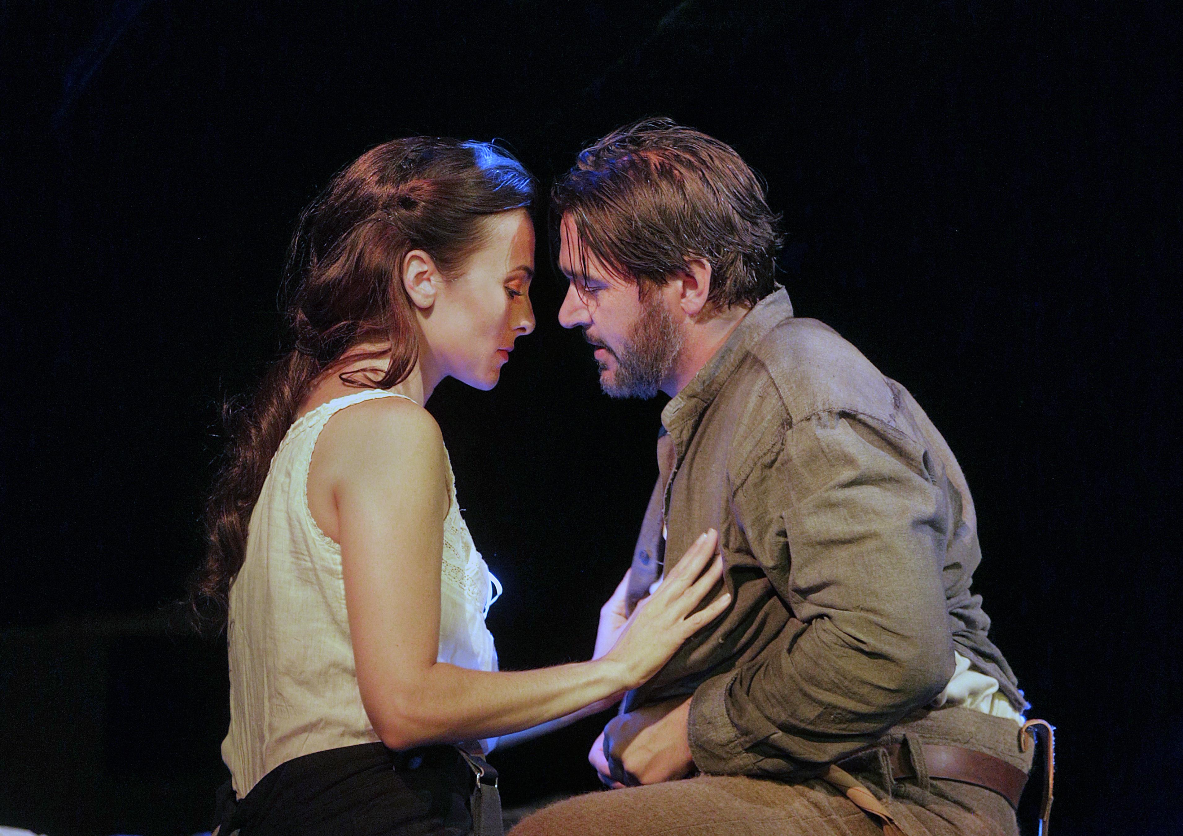 Isabel Leonard (Ada) and Nathan Gunn (Inman)