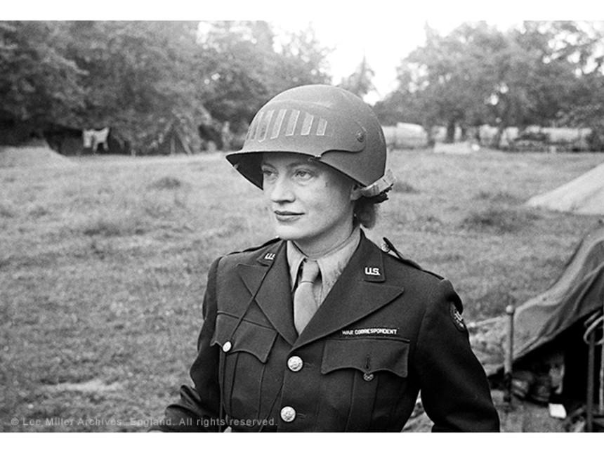 Lee Miller, Normandy France, 1944
