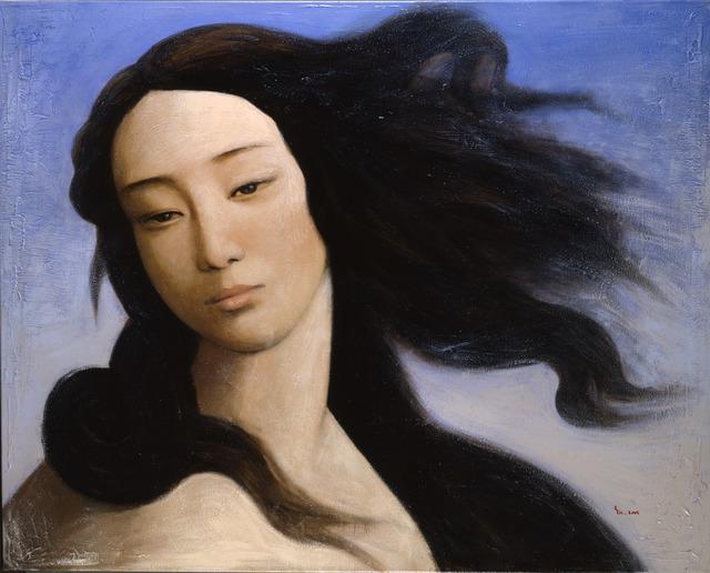 Venus, after Boticelli (2008) by Yin Xin (courtesy of Duhamel Fine Art, Paris)