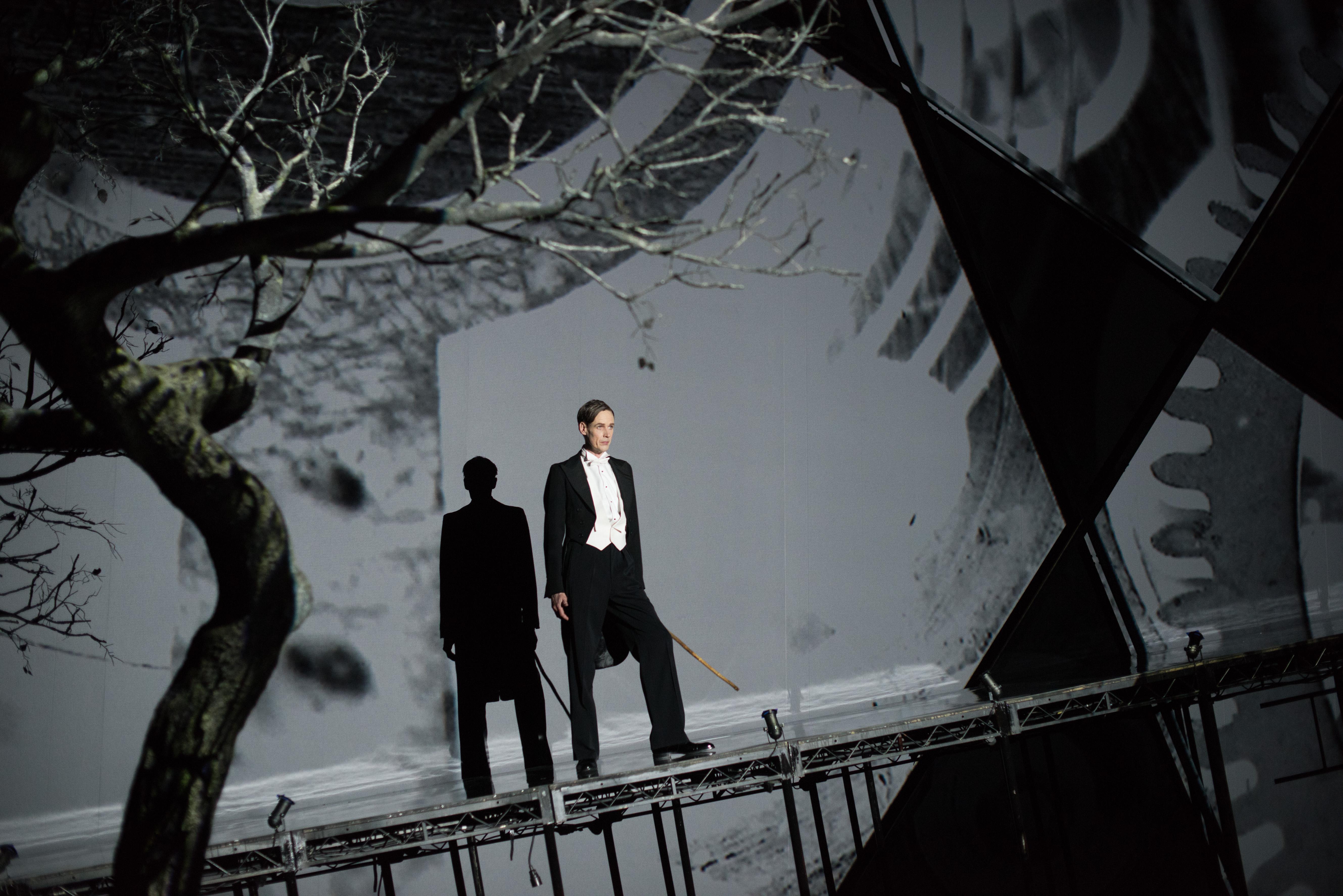 Ian Bostridge. Photo by  Hugo Glendinning.