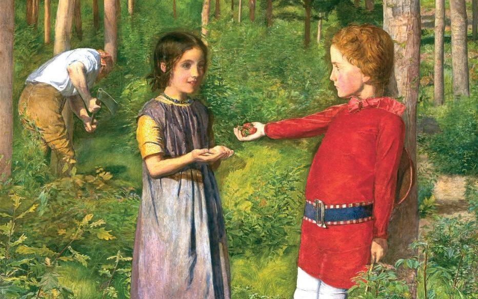 The Woodman's Daughter. 1850-51. John Evertett Millais