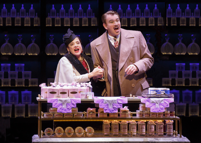 LuPone and Sills. Photo, Joan Marcus.