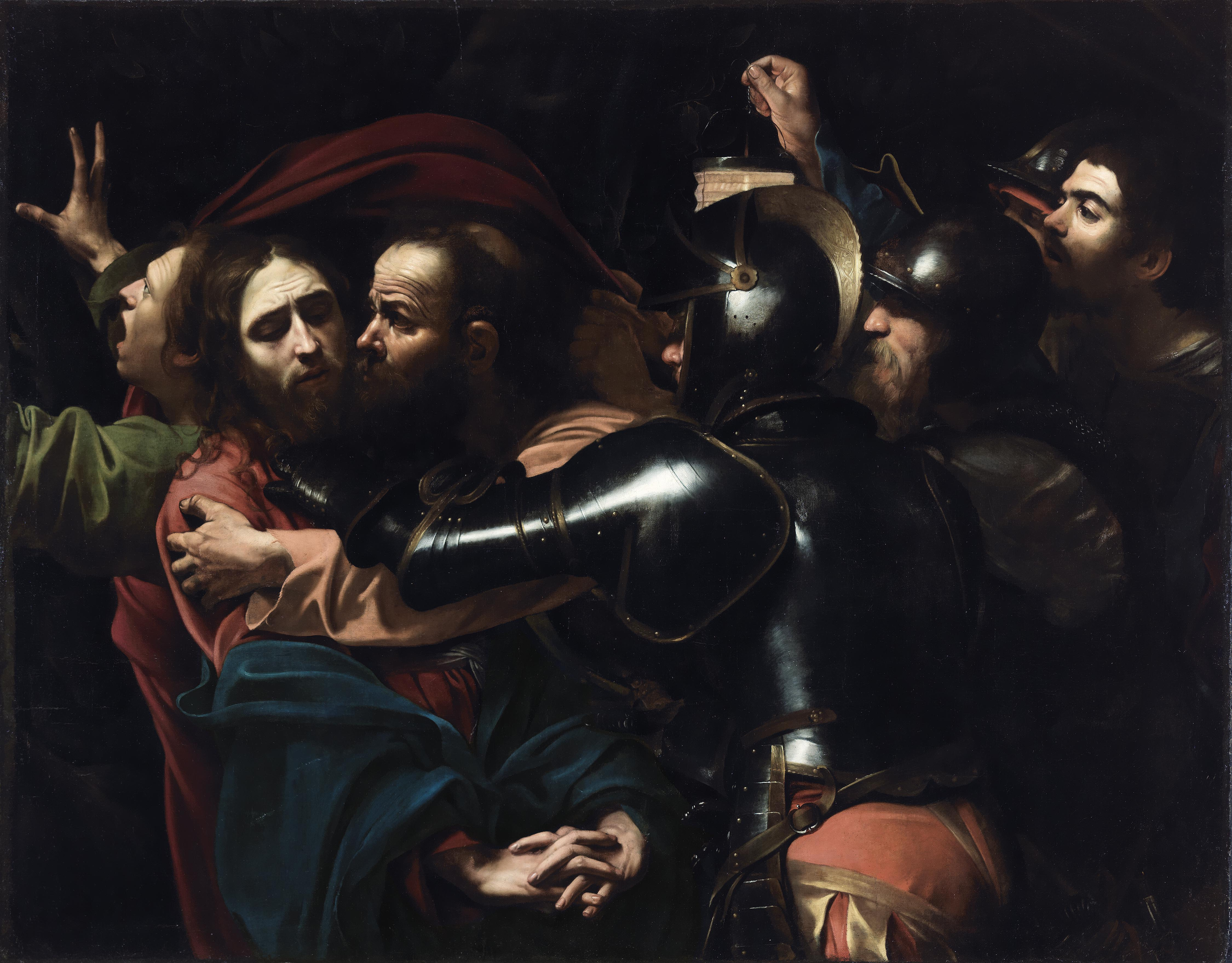 The Taking of Christ Michelangelo Merisi da Caravaggio 1602 © The National Gallery of Ireland, Dublin