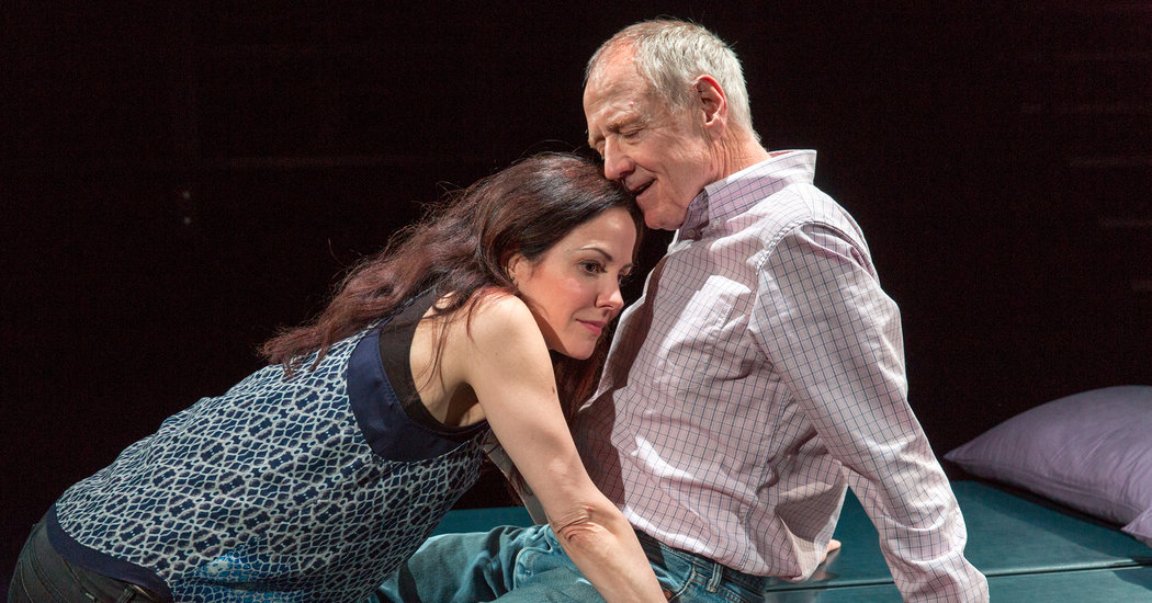 Mary-Louise Parker and Denis Arndt. Photo:  Richard Termine for The New York Times