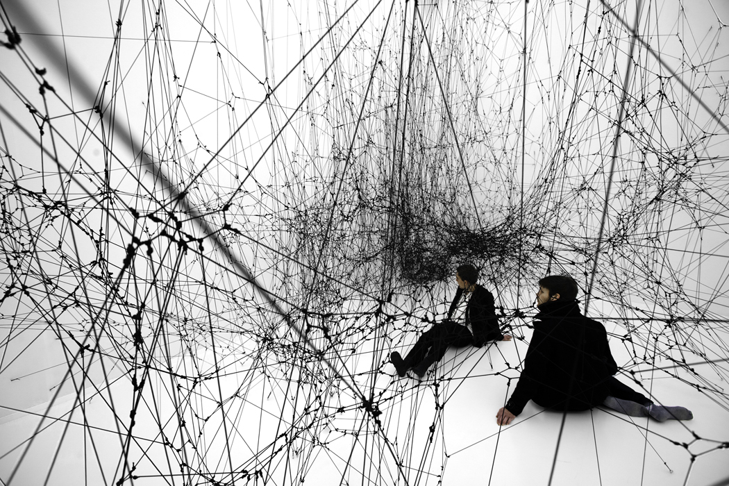 14 Billions (working title). Photography by Studio Tomás Saraceno, © 2010
