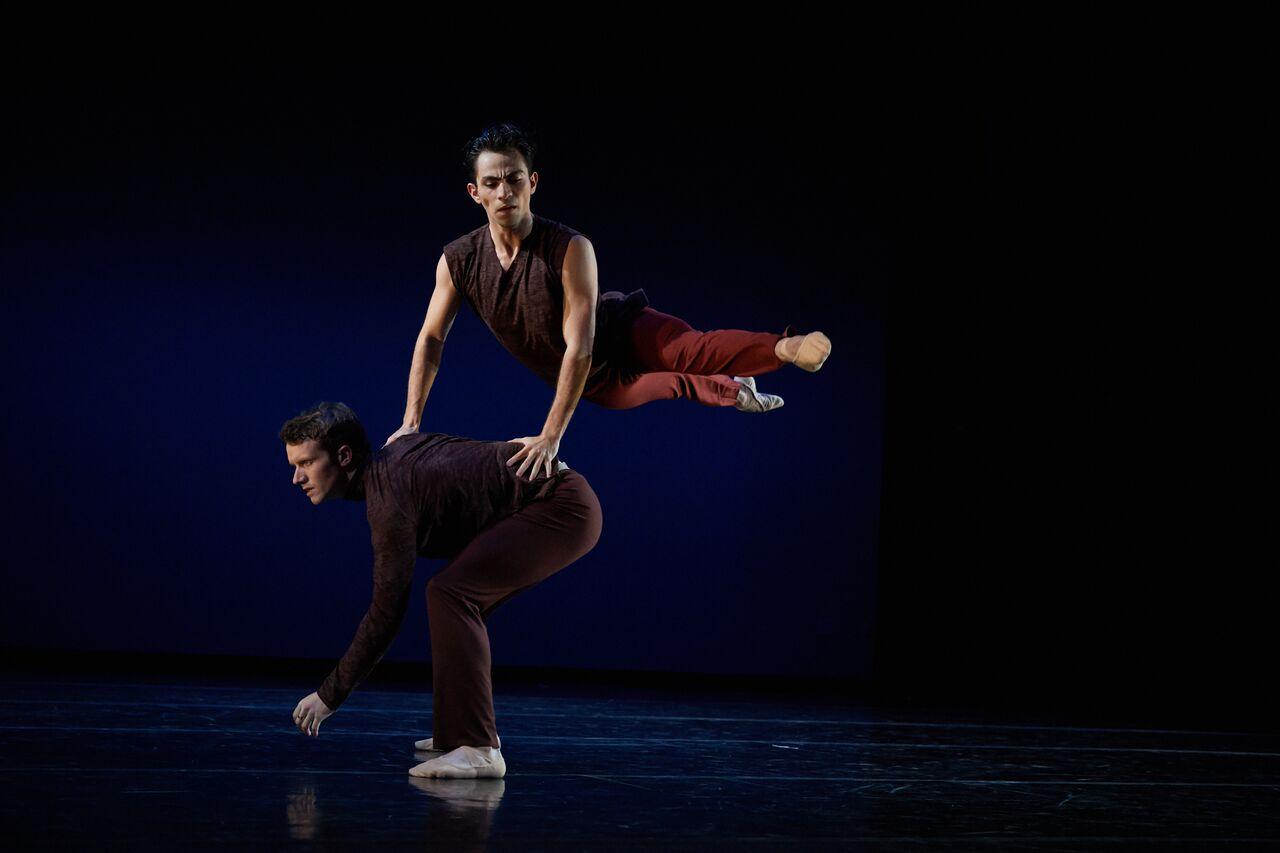 Felipe Leon and Oliver-Paul Adams from Sonya Delwaide's Trait d'Union. Photo:  David DeSilva