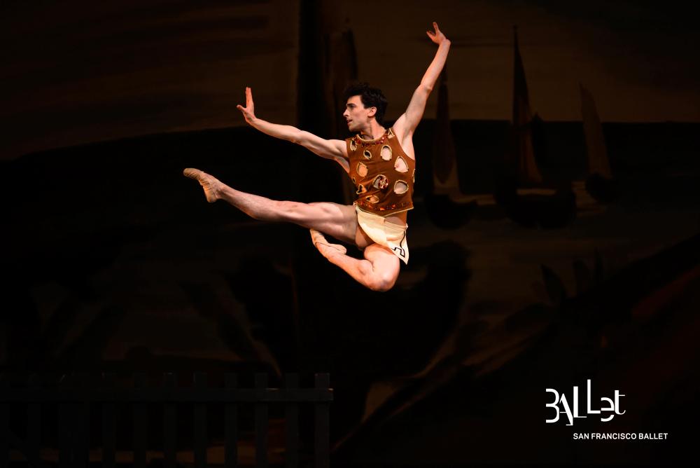 Joseph Walsh in Balanchine's Prodigal Son. (© Erik Tomasson)