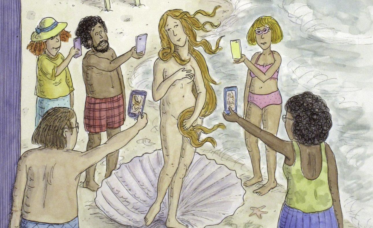 Roz Chast, The Birth of Venus, 2014.
