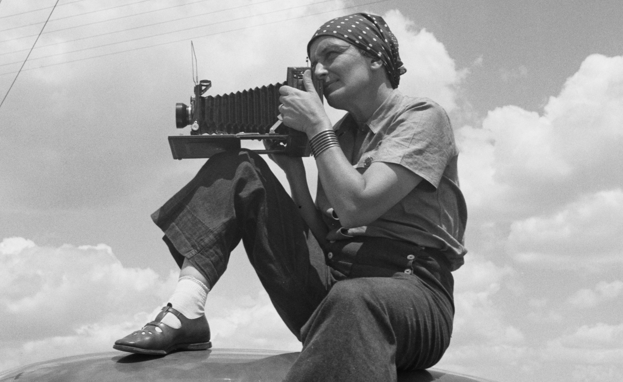 The Dorothea Lange Collection, Oakland Museum of California.  Digitized by the Oakland Museum of California.