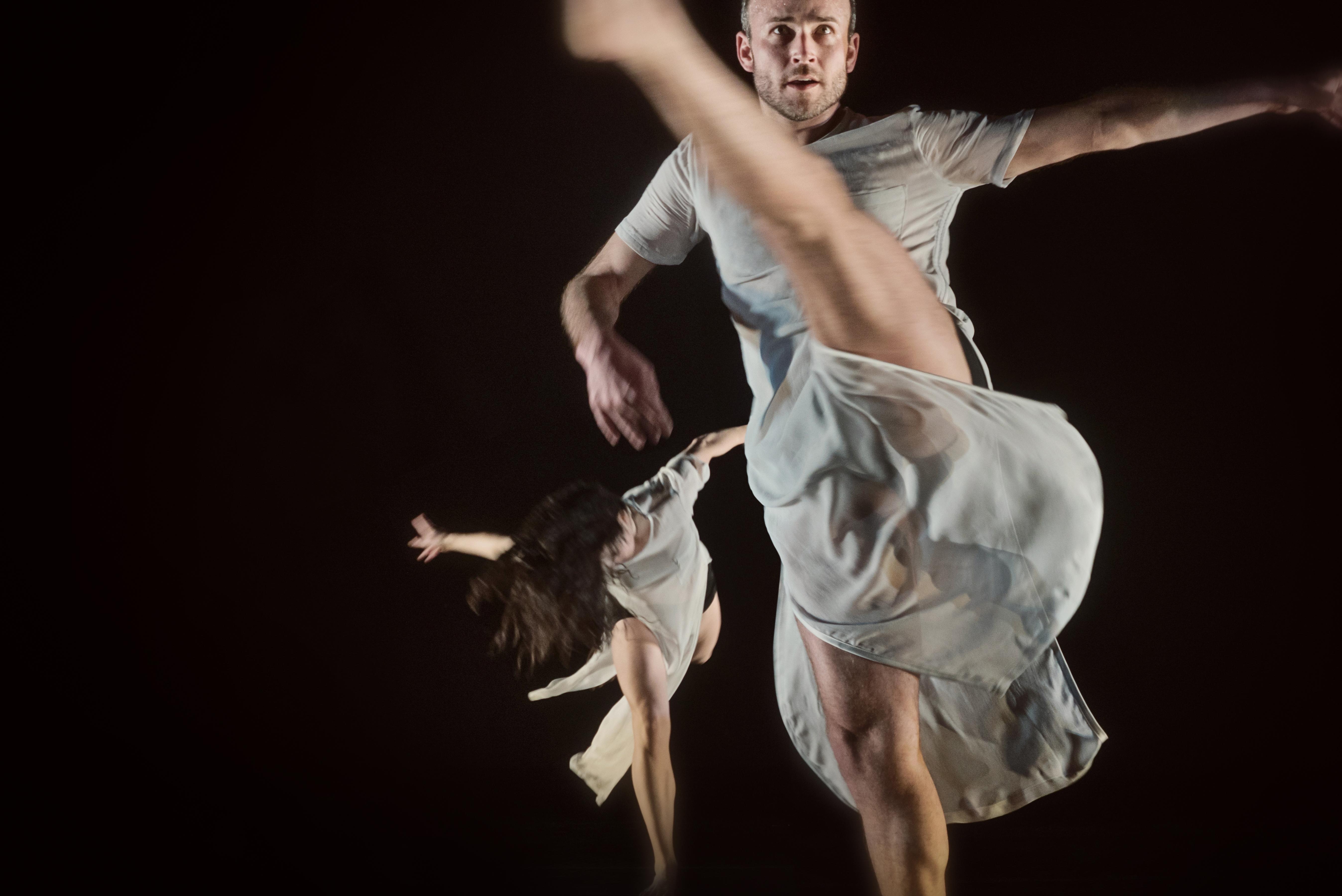 Liane Burns and Charles Slender-White in FACT/SF's