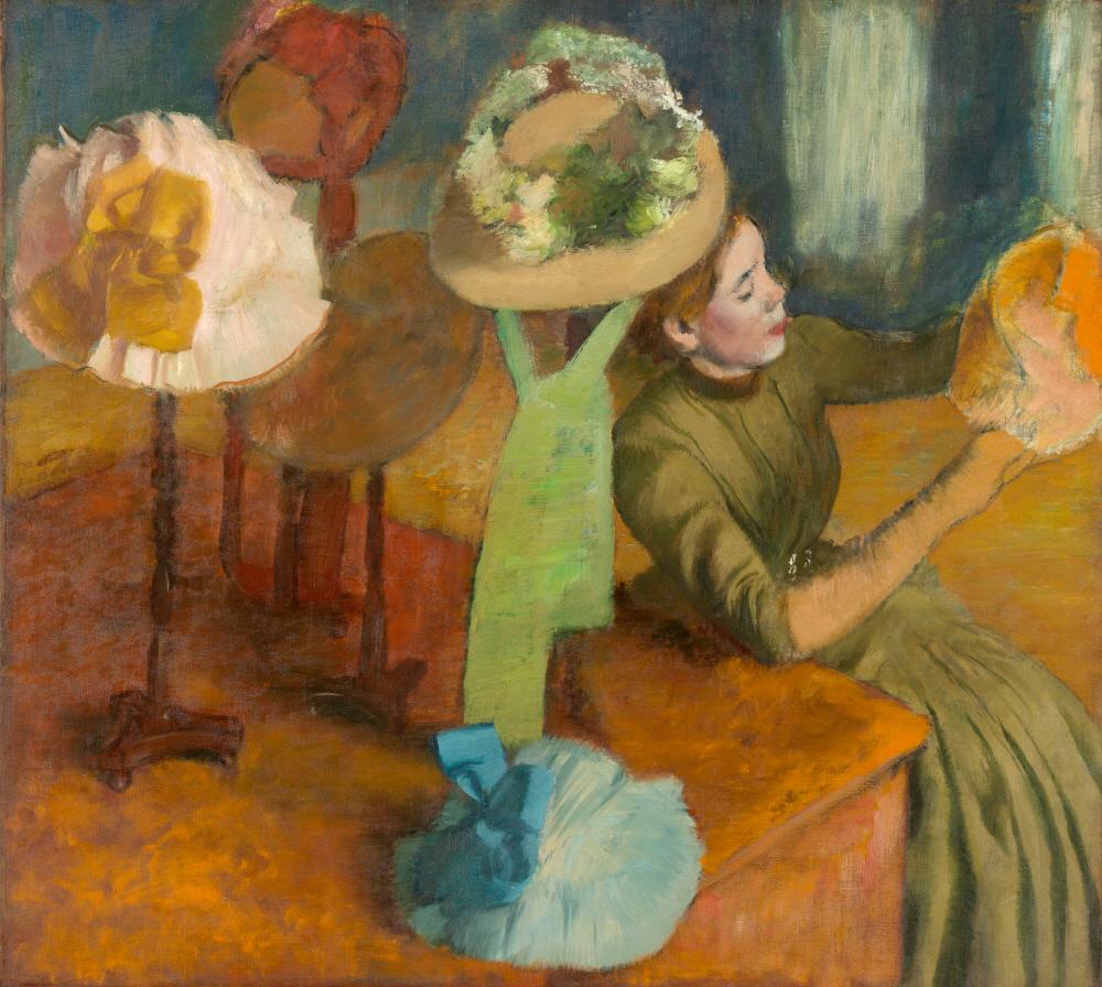 Edgar Degas. The Millinery Shop, 1879/86.