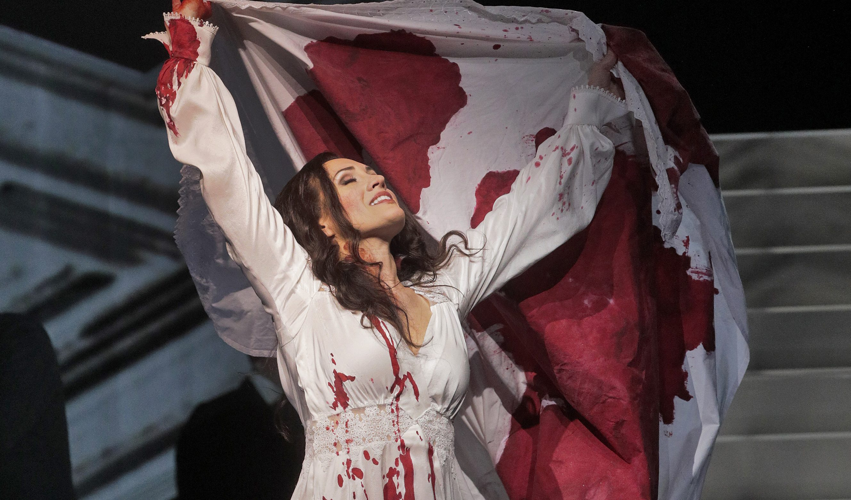 Brenda Rae as Lucia. Photo by Ken Howard.