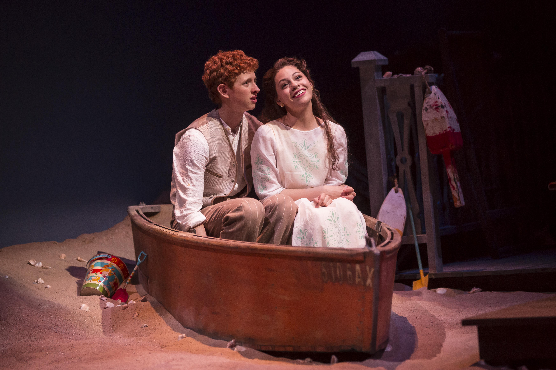Niall Cunningham (Richard Miller) and Ayssette Muñoz (Muriel McComber). Photo: Liz Lauren.