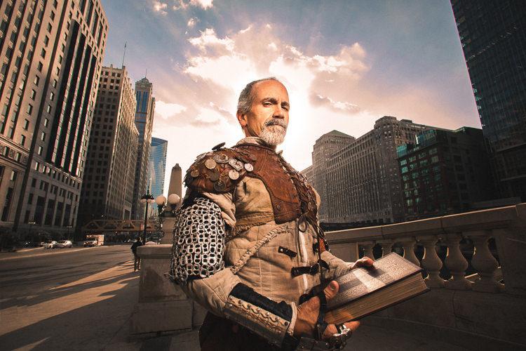 Henry Godinez as Don Quixote. Photo: Joe Mazza.