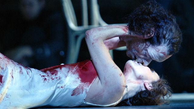 Nadja Michael as Salome Royal Opera House, London, 2008 ROH © Robbie Jack - Corbis.
