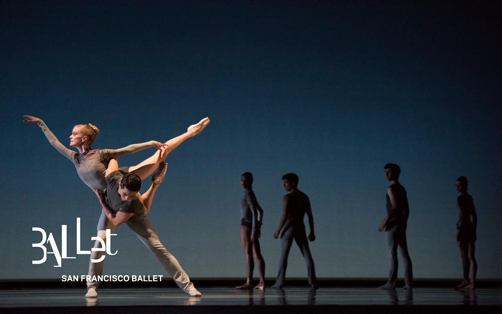 San Francisco Ballet in Thatcher's Ghost in the Machine. (© Erik Tomasson)