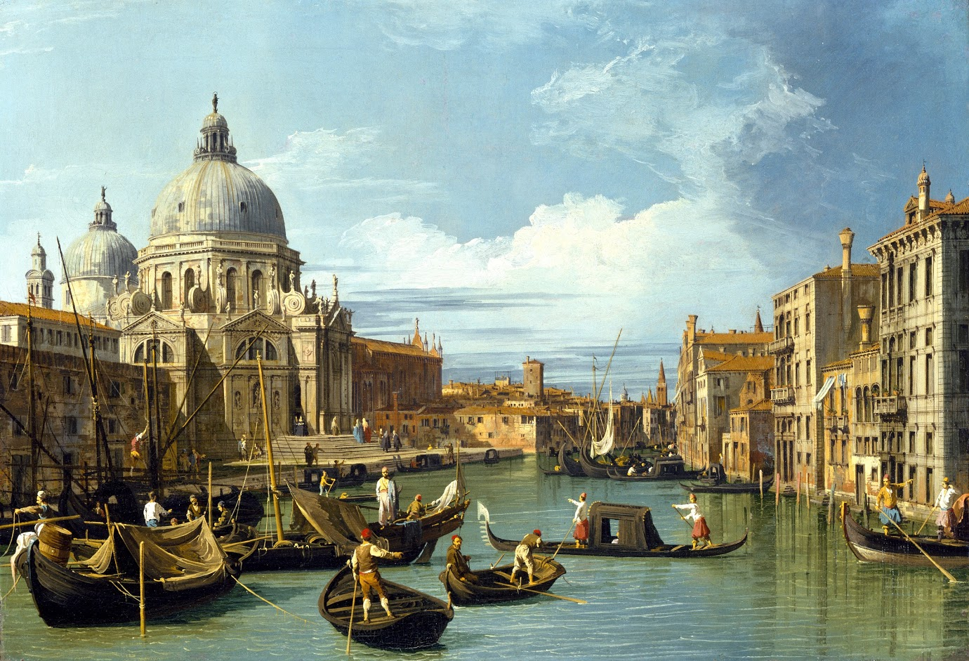 Giovanni Antonio Canal, Entrance to the Grand Canal