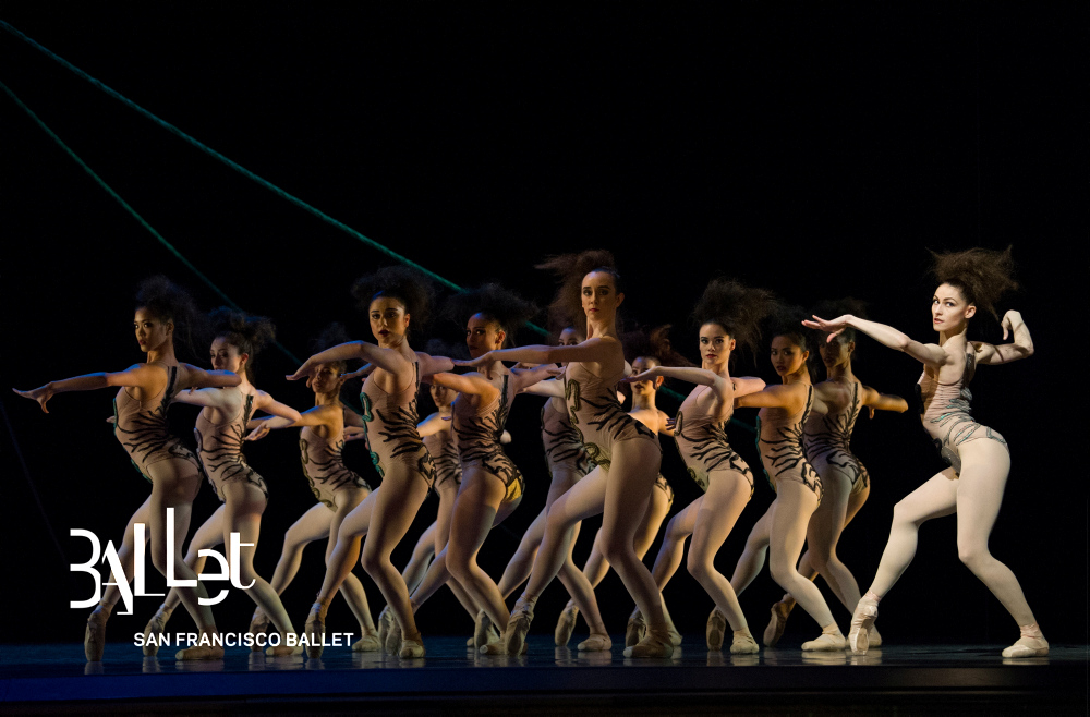 San Francisco Ballet in Robbins' The Cage. (© Erik Tomasson)