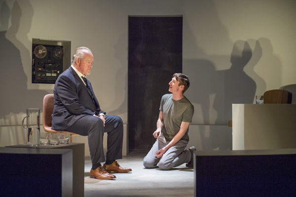 L) Paul Vincent O'Connor as Salter and (R) Joseph Patrick O'Malley. Photo: David Allen.