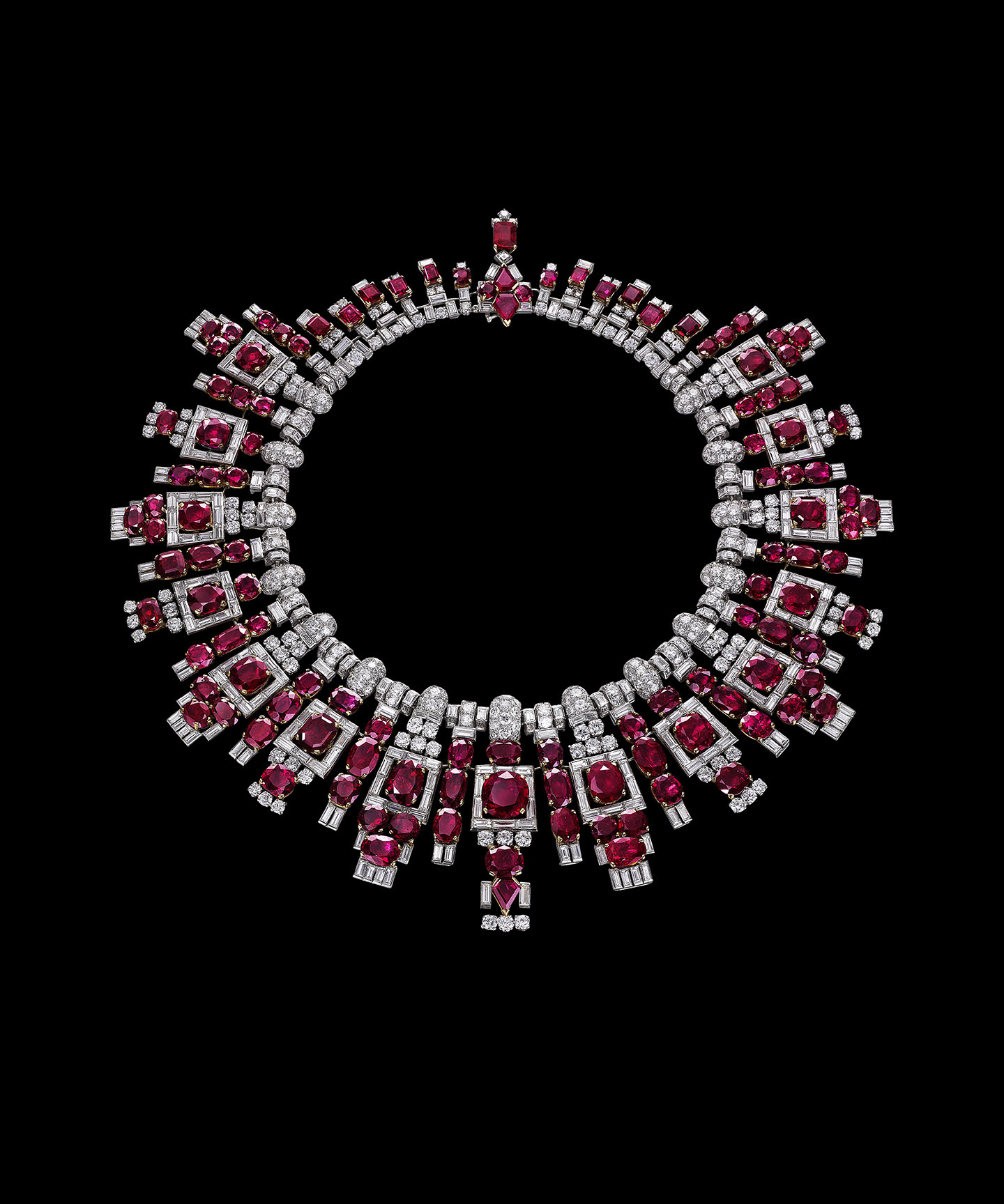 Nawanagar ruby necklace, Cartier, London, 1937.