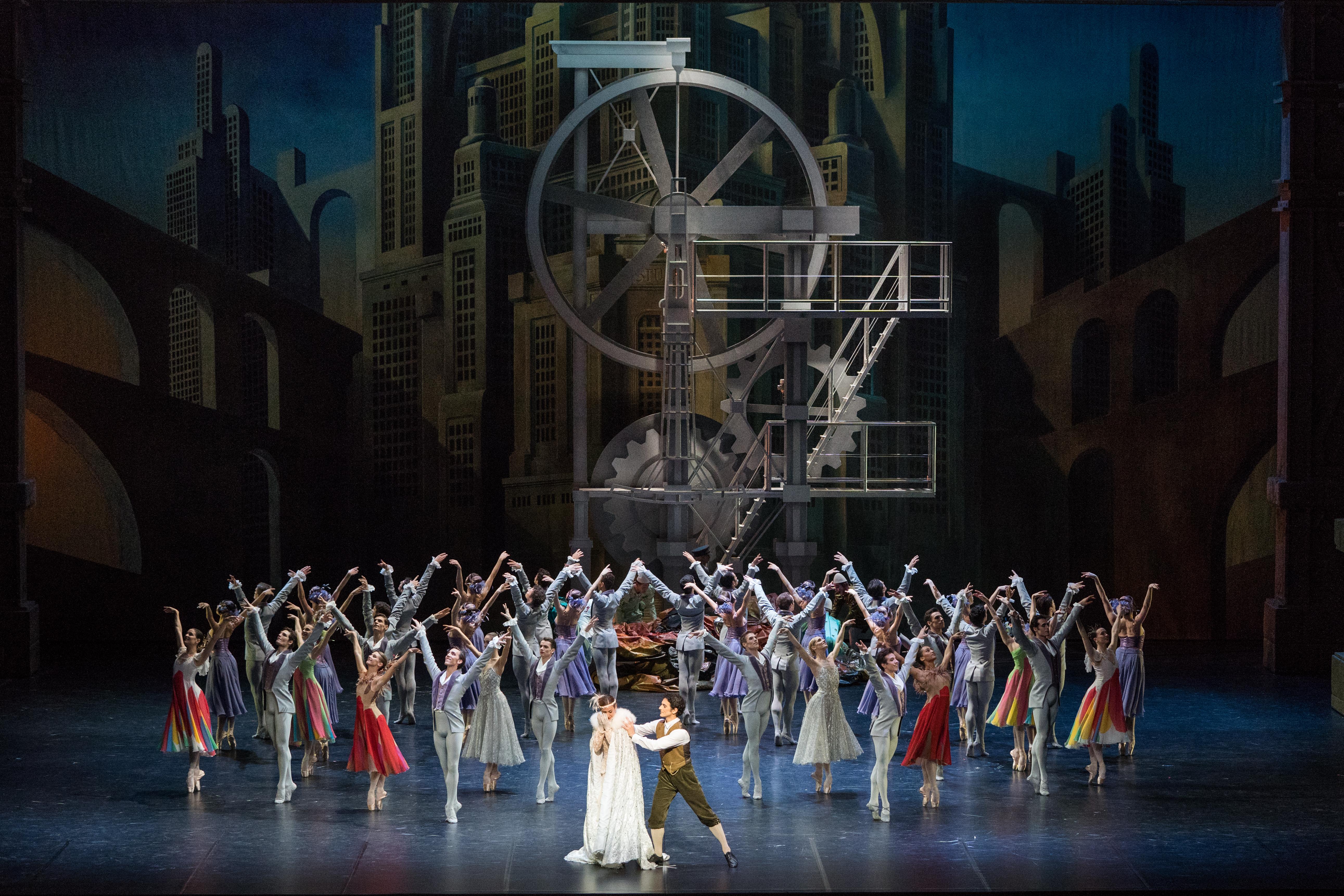 Photo copyright: Yonathan Kellerman/OnP. Nureyev's Cinderella performed by the Paris Opera Ballet.