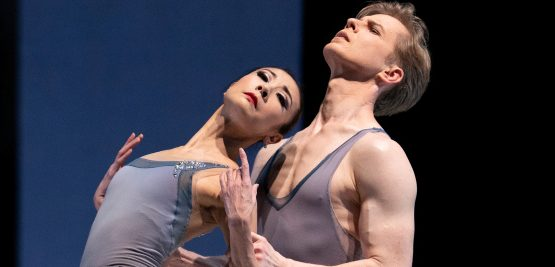 Yuan Yuan Tan and Tiit Helimets in Tomasson's The Fifth Season. (© Erik Tomasson)