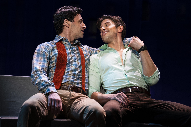Max von Essen and Nick Adams, Photo: Joan Marcus.