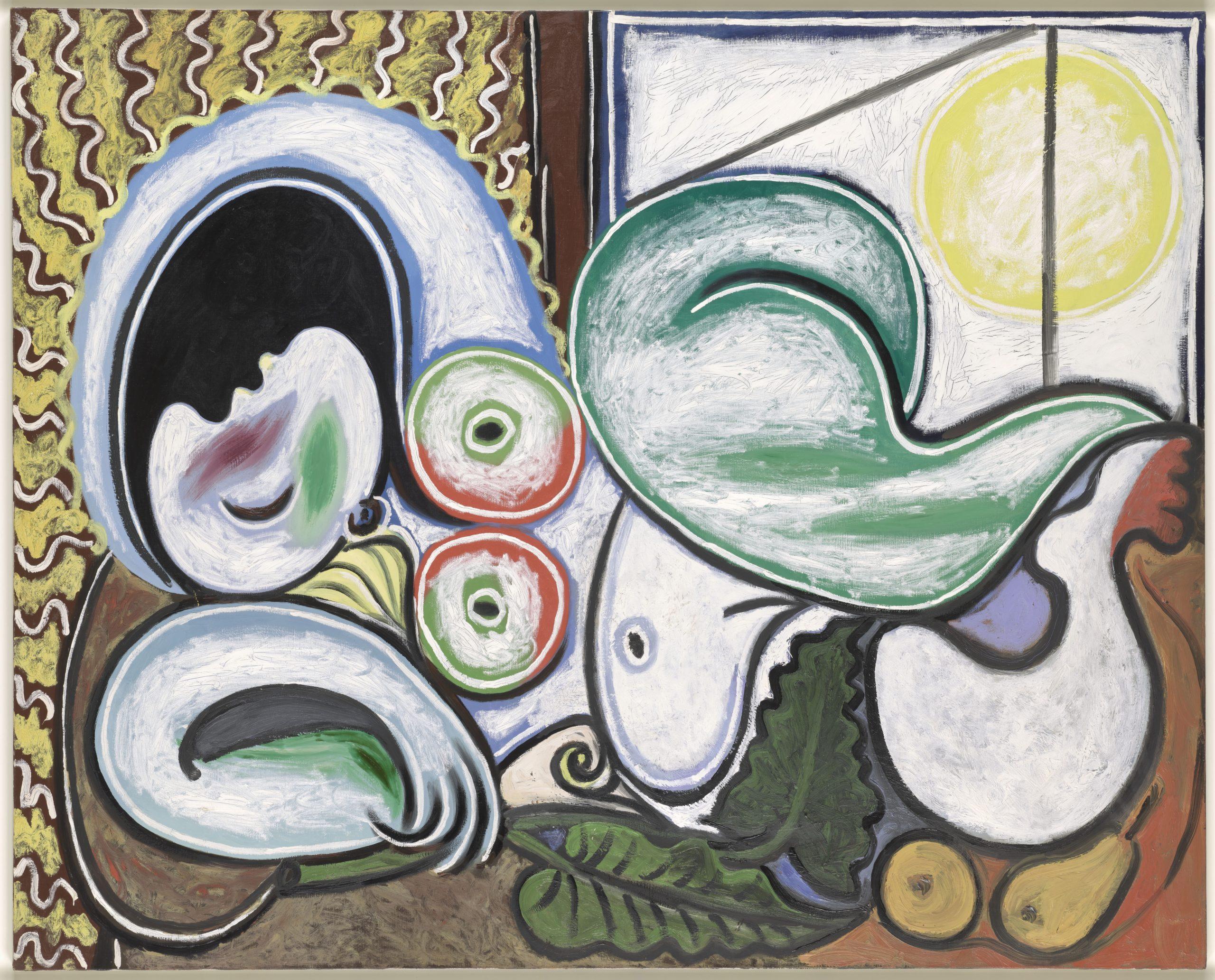 Nu couché. Picasso Paris, musée national Picasso.