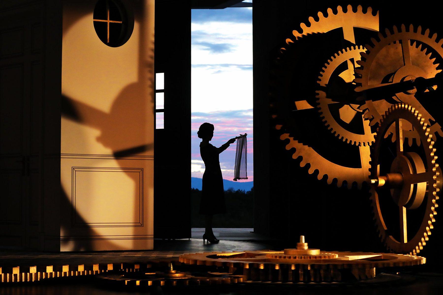 Ying Fang (Susanna). Photo Credit: Curtis Brown For The Santa Fe Opera, 2021